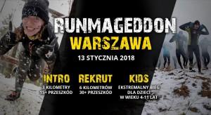 Zimowy Runmageddon opanuje warszawskie lotnisko