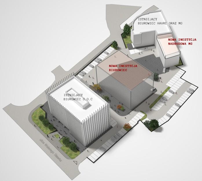 MG, wizualizacja INDO Architekci