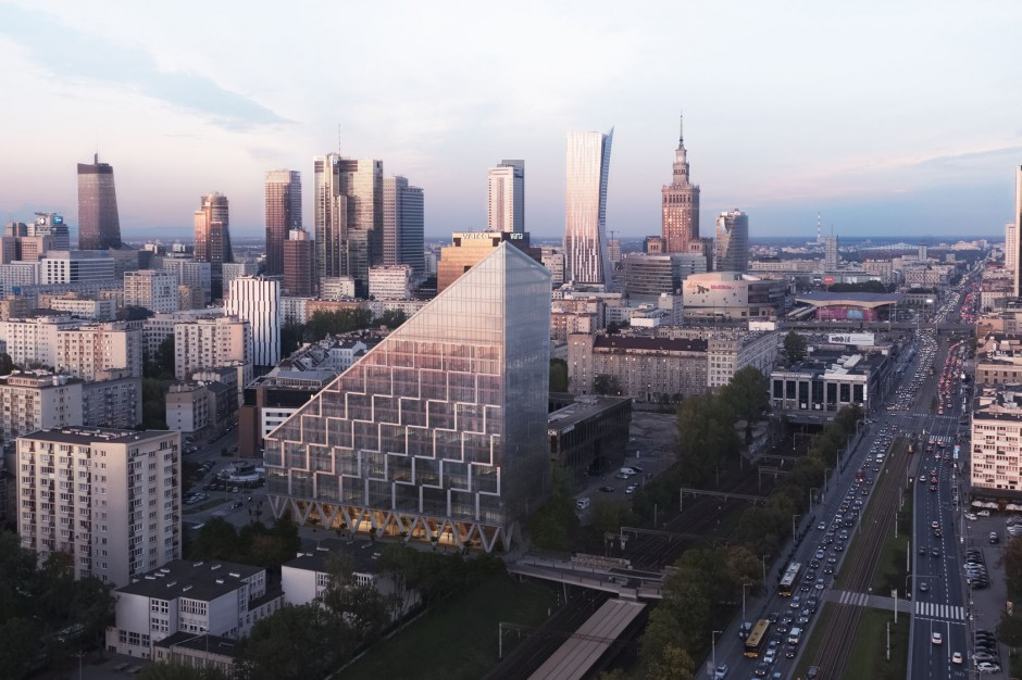 Ruszyła budowa biurowca przy Chmielnej 89 w Warszawie