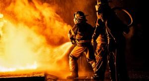 Pożar hotelu w Chotowej
