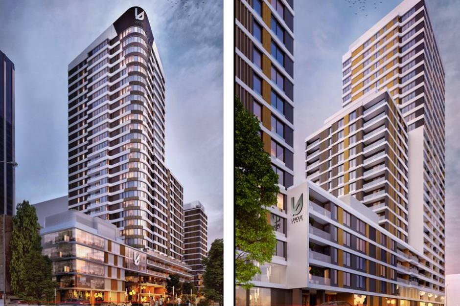 Unique Apartments: kilkaset apartamentów na wynajem w inwestycji Unique Tower