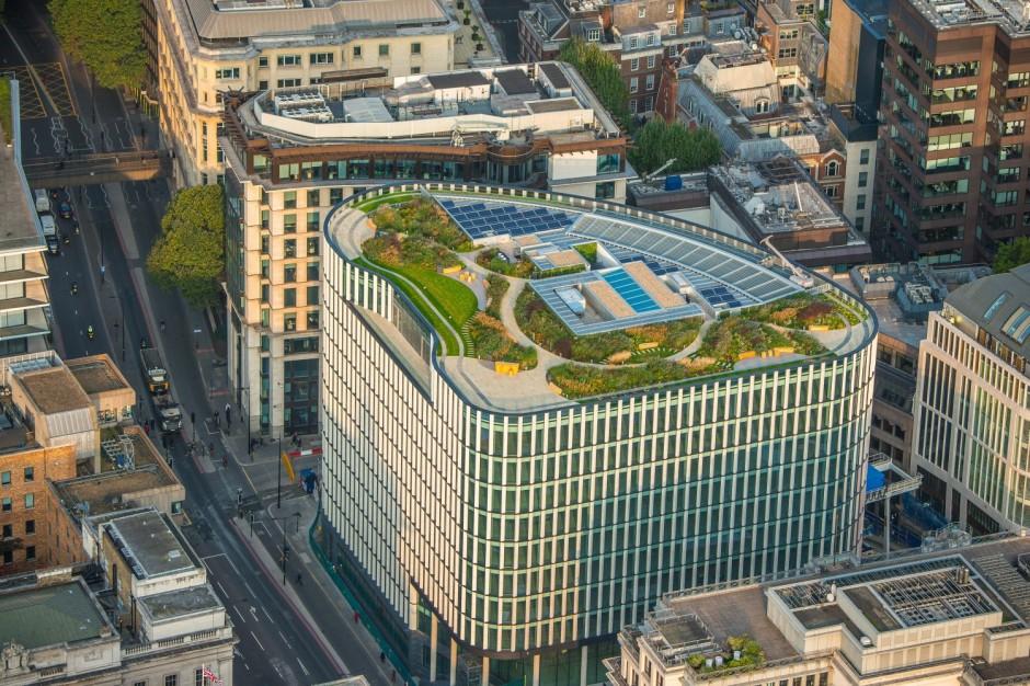 Biurowiec w londyńskim City poza portfelem HB Reavis