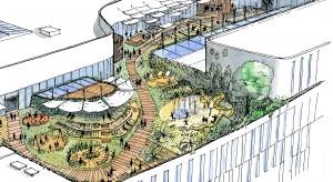 Tak będzie wyglądać strefa gastronomiczna Galerii Młociny - znamy zwycięski projekt