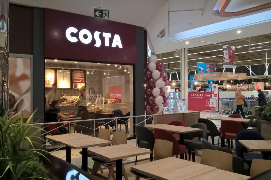 Costa Coffee dobrze czuje się w Pasażach Tesco