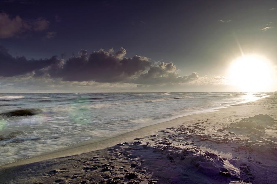 Zimowy Bałtyk kusi turystów