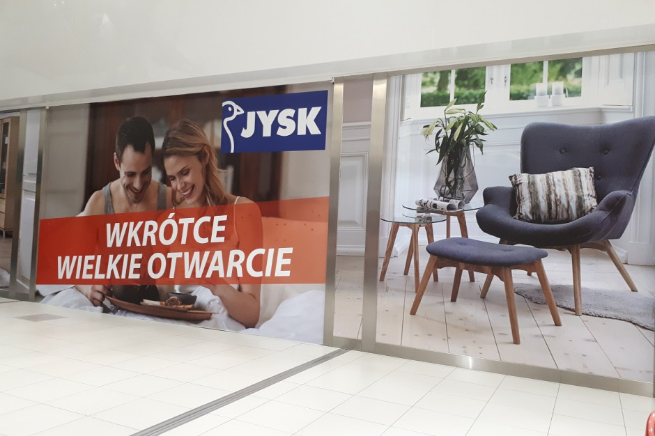 Sieć Jysk otwiera kolejne sklepy w Polsce