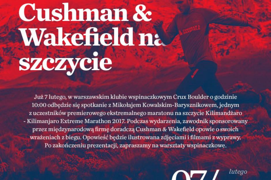 Cushman & Wakefield na szczycie