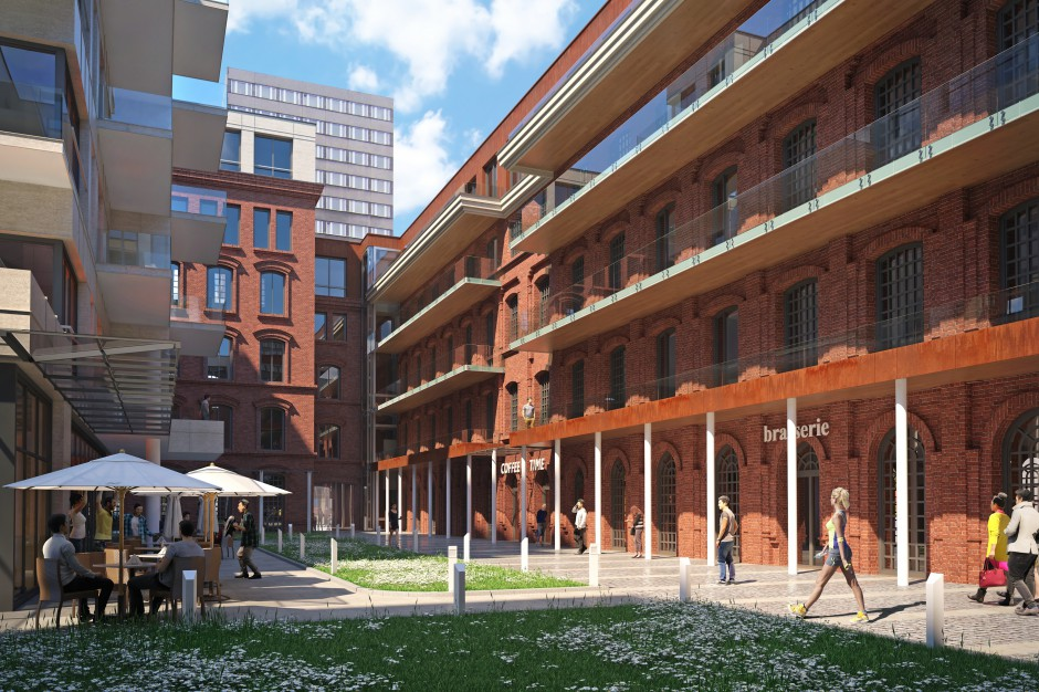 W centrum Łodzi może powstać kompleks biurowców. Orange sprzedaje nieruchomości