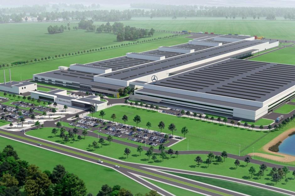 Strabag startuje z budową fabryki Mercedesa w Jaworze