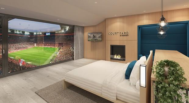 Gratka dla fanów futbolu. Courtyard by Marriott podejmuje współpracę z Bayernem Monachium