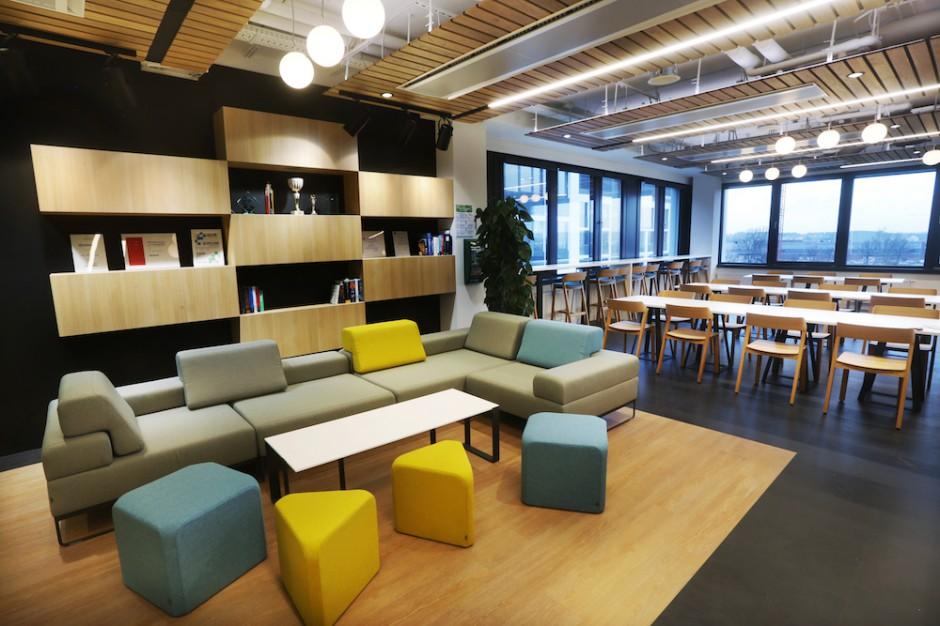 Sztuka i nauka w jednym. Oto biuro nowego najemcy Business Garden
