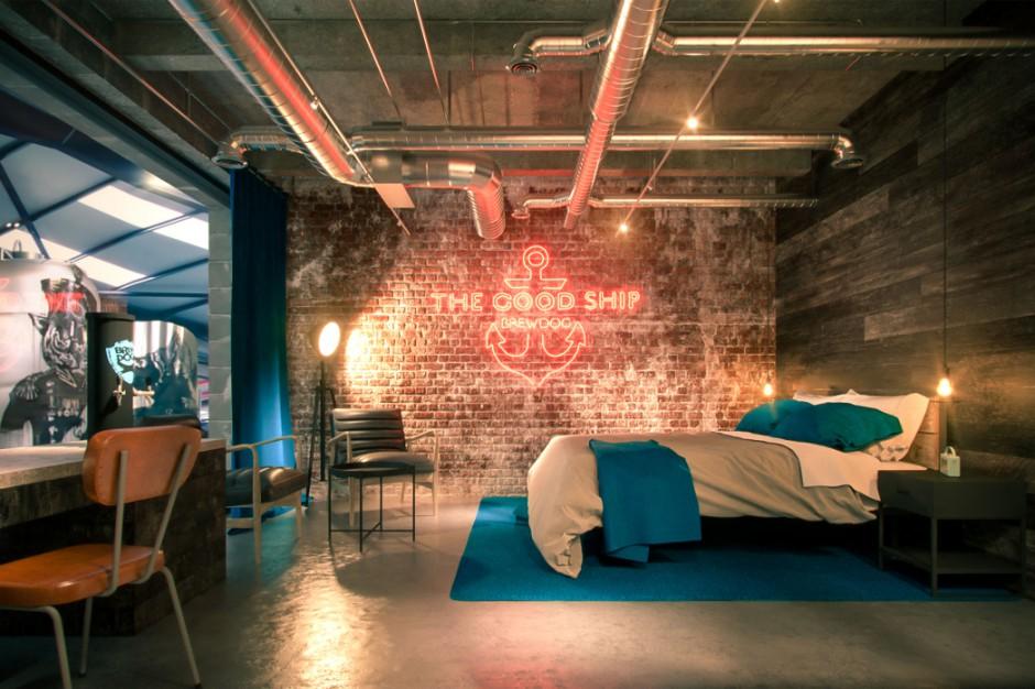 BrewDog szykuje niezwykły hotel. Piwo nawet w łazience