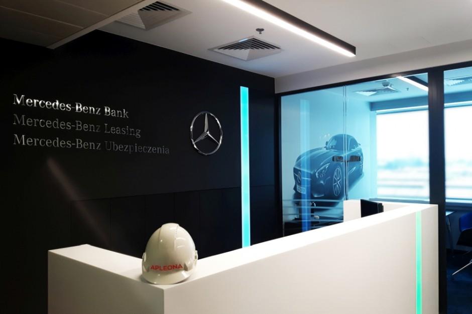 Warszawskie biura Mercedesa w nowej odsłonie