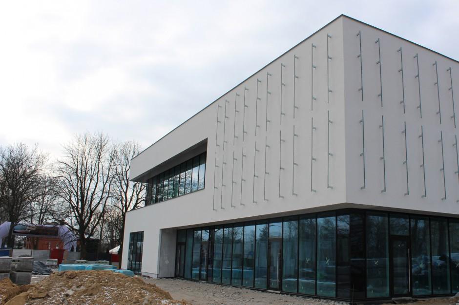 Budowa Galerii Zegrzyńskiej na ostatniej prostej