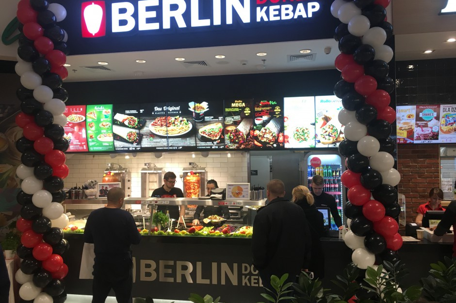 Berlin Doner Kebap kontynuuje ekspansję. Na celowniku centra handlowe