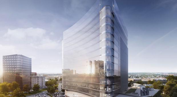 Carbon Tower - nowy biurowiec w biznesowej dzielnicy Wrocławia
