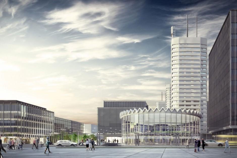 Najcięższa część projektu warszawskiej Rotundy już wybudowana