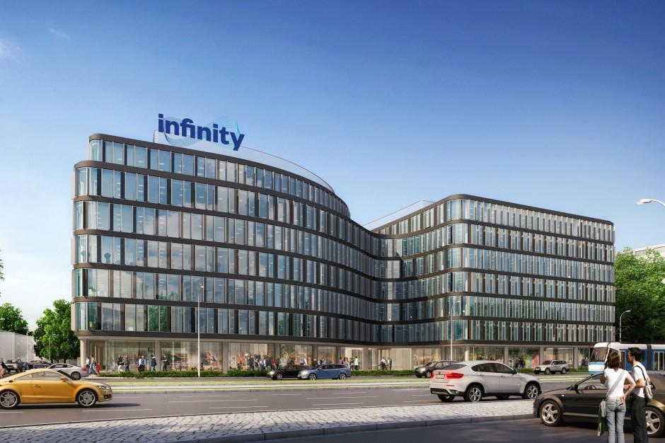 Nowy projekt na biurowej mapie Wrocławia