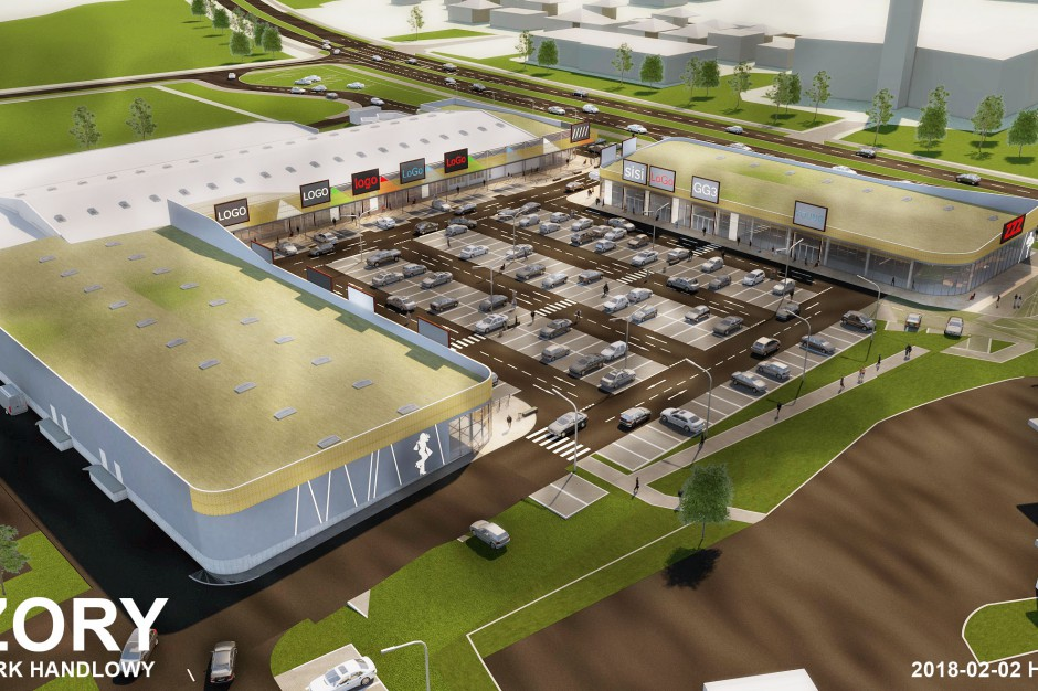 Park Handlowy w Żorach będzie większy
