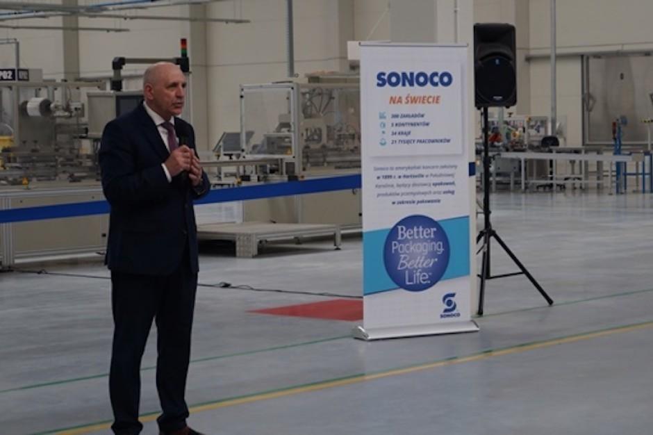 Duży kontrakt otworzył drzwi do nowej inwestycji Sonoco pod Strykowem