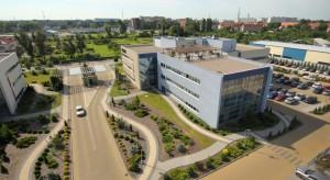 Wołowska Park z nowym biurowcem