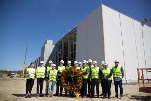 Wiecha zawisła na centrum logistycznym Zalando pod Łodzią