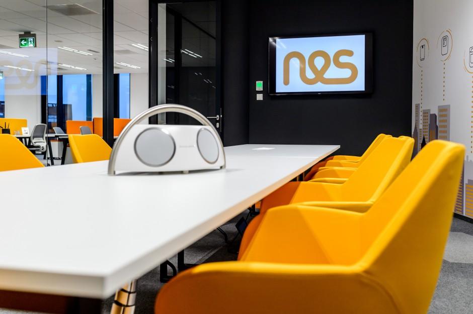 Biuro NES w Gdańsku zrealizowane przez Tétris
