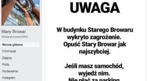 Wielka akcja antyterrorystów w Starym Browarze i... na Instagramie