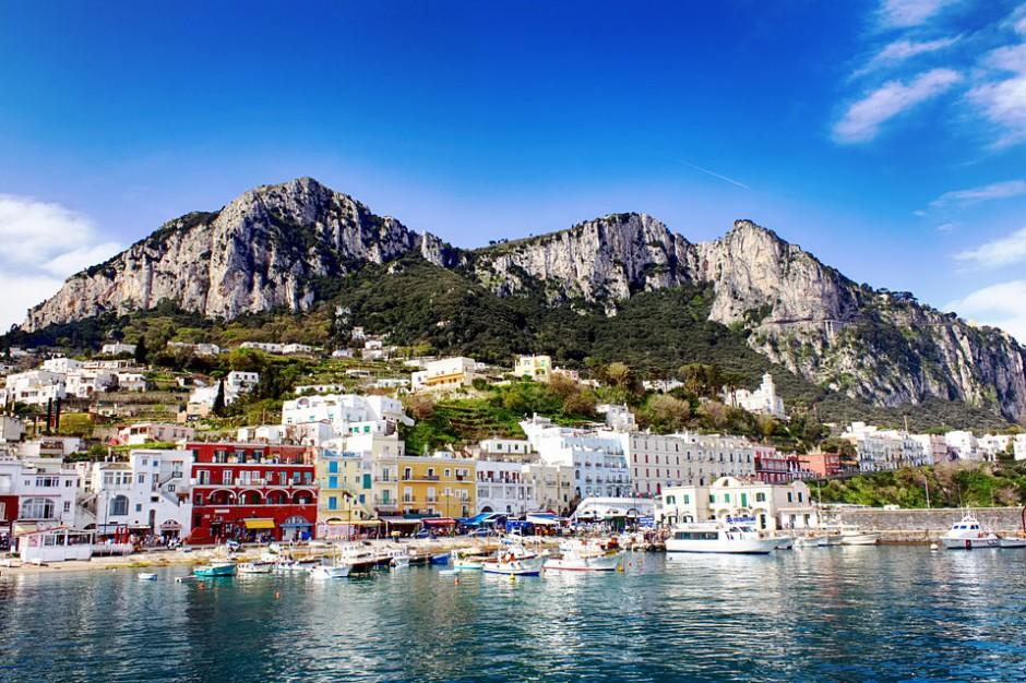Tłumy turystów na Capri, burmistrz prosi policję o pomoc