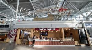 Costa Coffee dotarła na Okęcie. Oworzyła jedną z największych kawiarni w Polsce