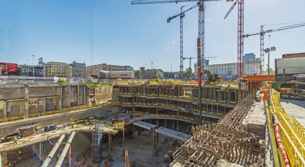 Zaglądamy na plac budowy Varso