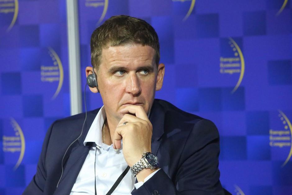 Nicklas Lindberg, prezes zarządu Echo Investment. Fot. PTWP.