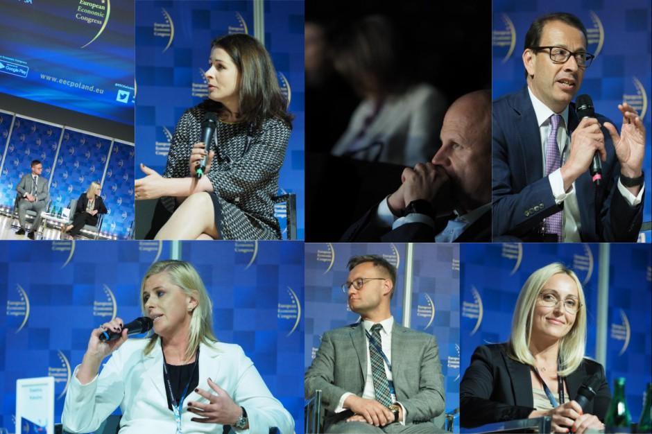 Biurowce frontem do Europy
