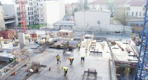 Na warszawskiej Woli rośnie nowy biurowiec