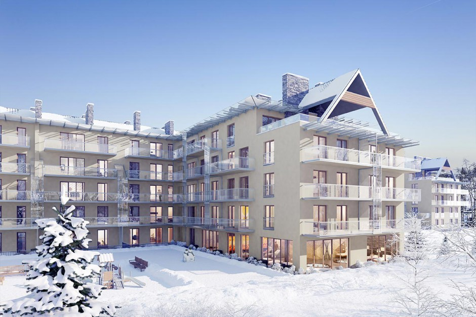 JHM buduje w Zakopanem. Powstanie duży apartamentowiec