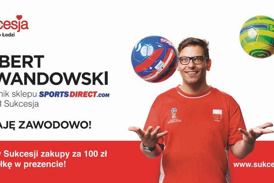 Lewandowski podaje piłki w Sukcesji