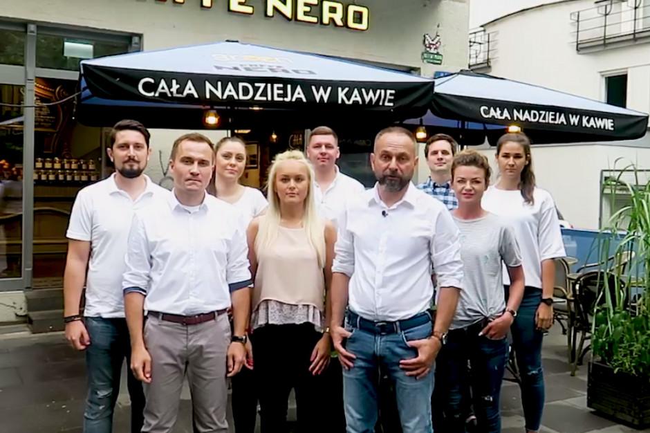 Green Caffè Nero zabiera głos w internecie