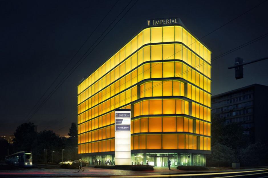 Imperial Business Centre zabłyśnie na stałe. Niezwykły biurowiec oddany do użytku