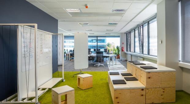 BZ WBK bierze więcej w Business Garden Poznań