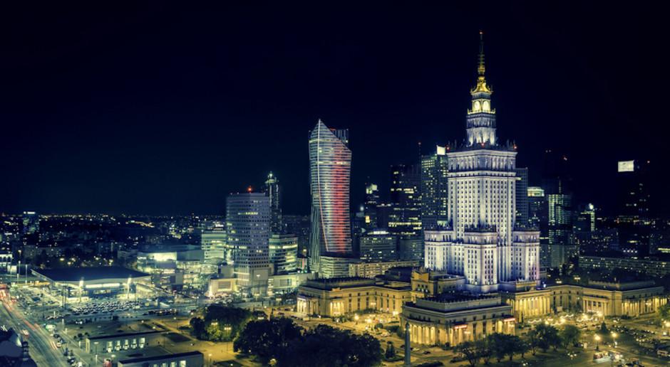 Więcej miejsc pracy po prawej stronie Warszawy?