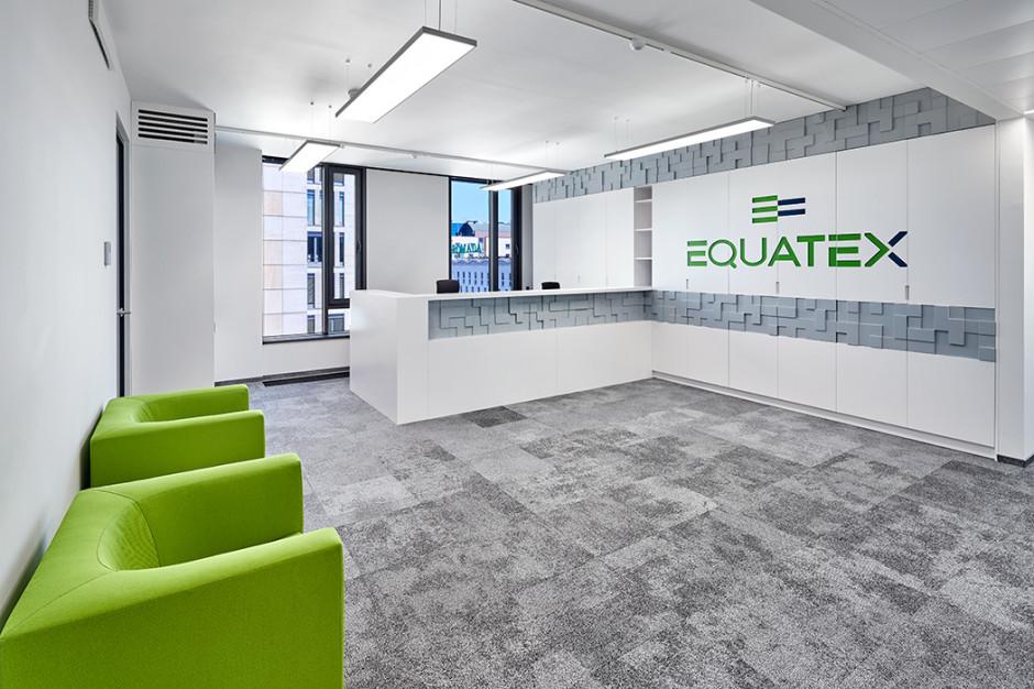 Equatex w nowym biurze. Zaglądamy do wnętrz