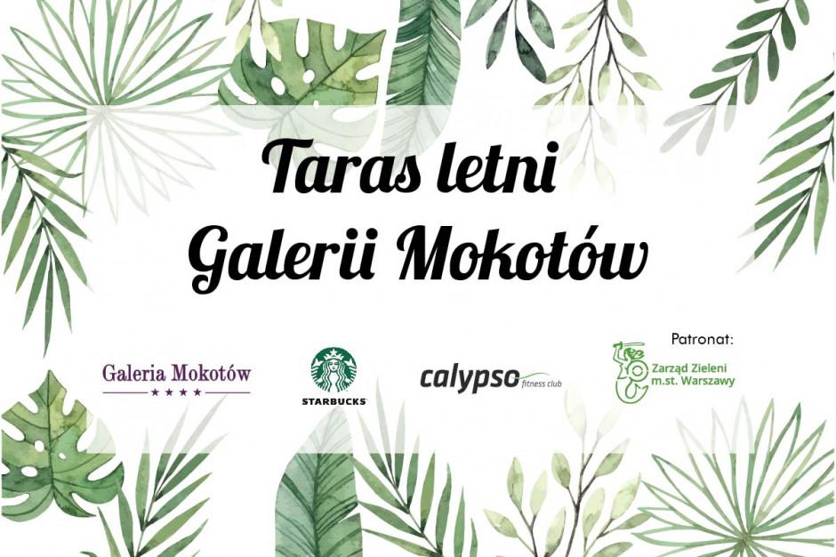 Wakacyjne animacje na tarasie Galerii Mokotów