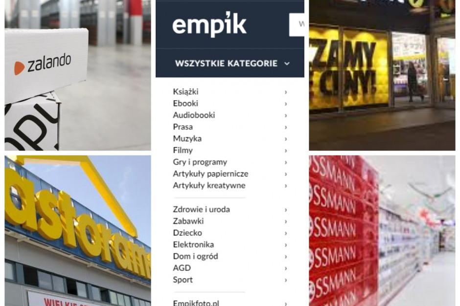 Top 10: Najpopularniejsze  e-sklepy w Polsce