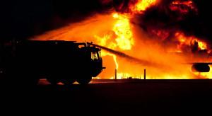 Wybuch na pasażu w Białymstoku