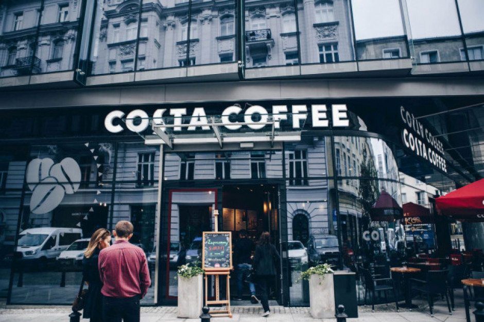 Okrągła liczba, kultowa lokalizacja. Costa Coffee otworzyła 150 kawiarnię w Polsce