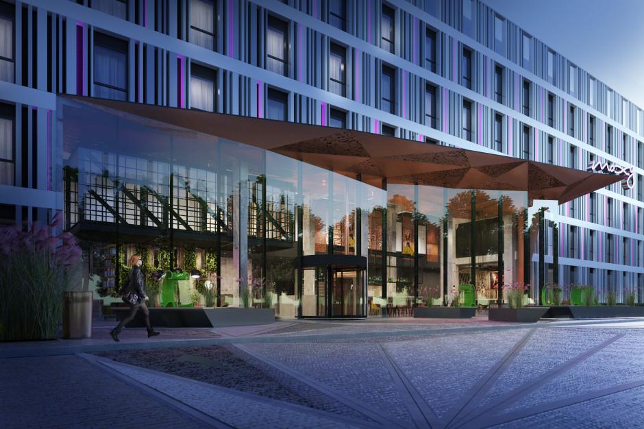 Nowy hotel Moxy w Poznaniu na starcie