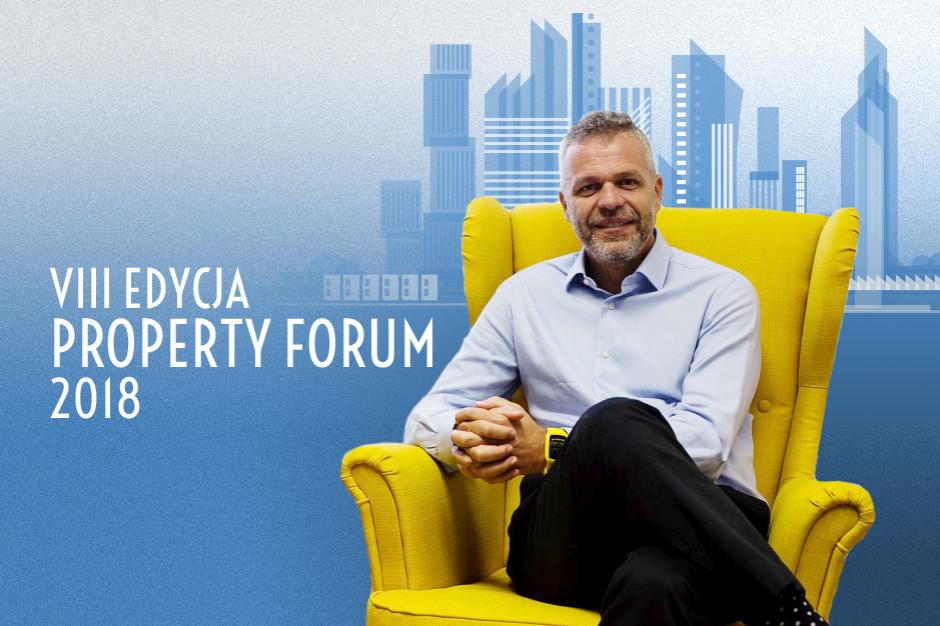 Andy Stalman gościem Property Forum