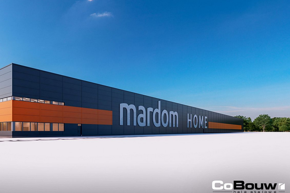 CoBouw zbuduje trzecią halę dla Mardomu