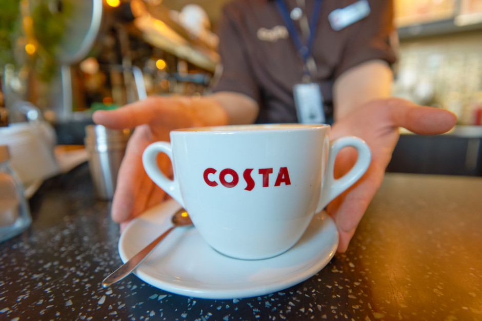 Coca-Cola kupi sieć kawiarni Costa Coffee za 3,9 miliarda funtów
