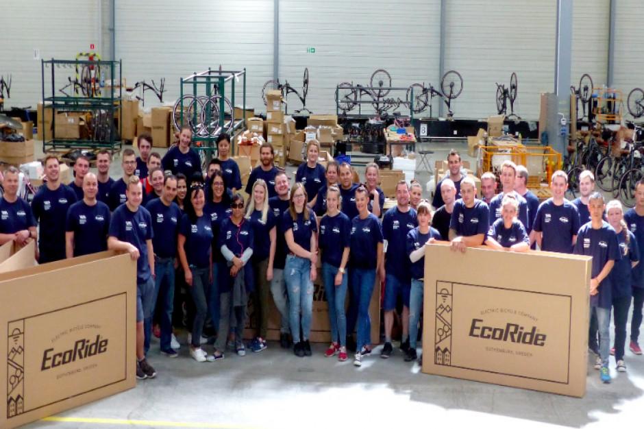 Pronordic Group uruchomiła fabrykę w Polsce. Hale i magazyny pełne e-rowerów